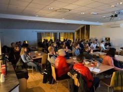 Foredrag Randesund Håndball. 30 trenere og 40 spillere