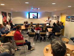 Spillere og foresatte for 04 kullet som startet på NTG Kongsvinger Høst 2020