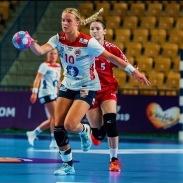 Mina Gregersen - LK02/03 og Randesund Håndball Damer
